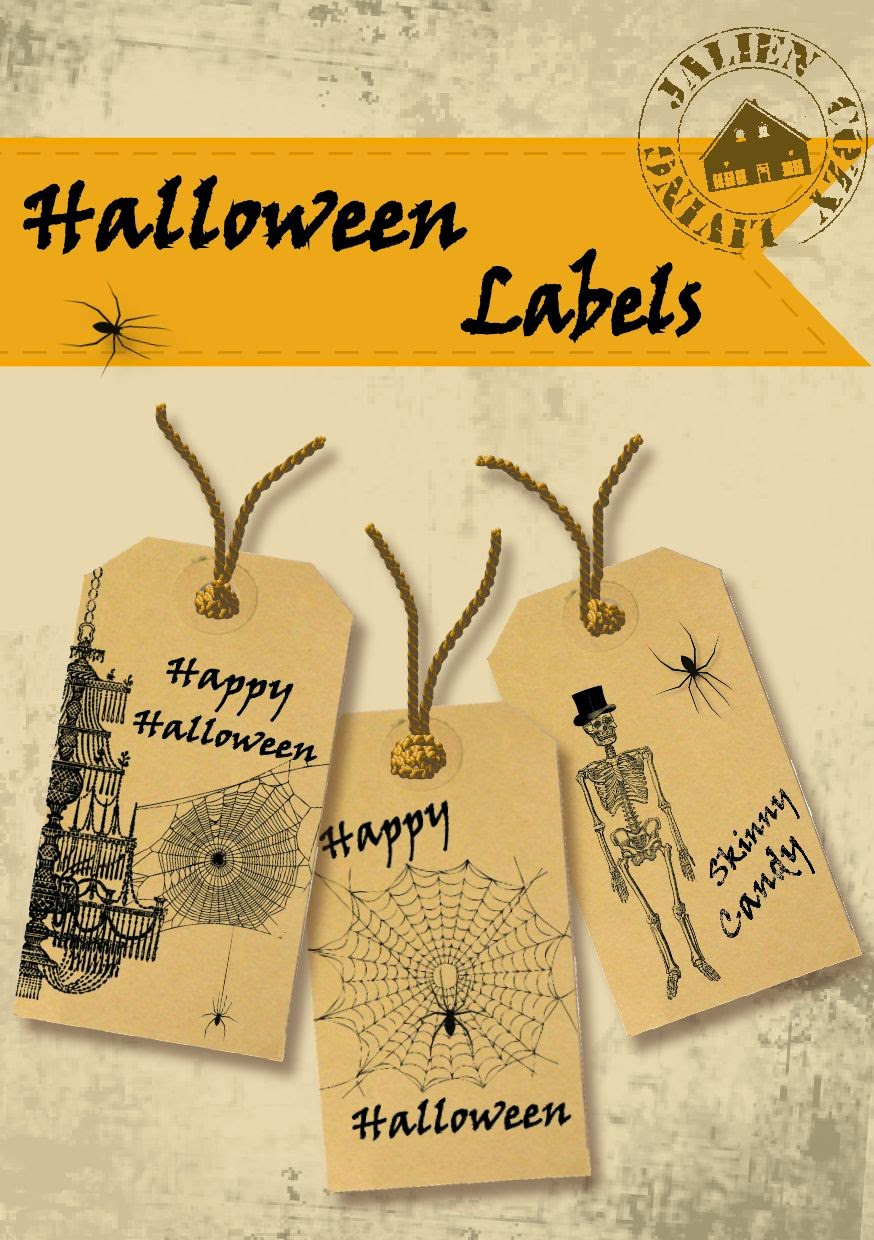 Halloween Labels van Jalien Cozy Living