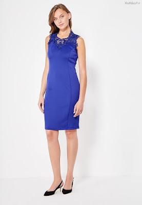 Vestidos Azul Rey