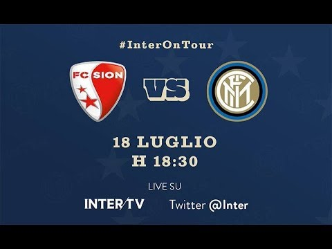 FC Sion vs Inter Milan Full Match Replay 18 July 2018