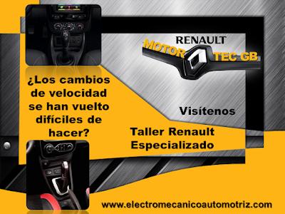 Mantenimiento Caja de Cambios Renault