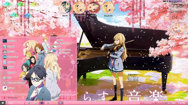 Shigatsu wa Kimi no Uso Theme Win 8/8.1 by Enji Riz Lazuardi
