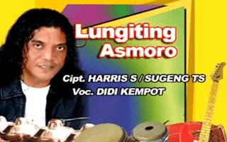 Lirik Lagu Lungiting Asmoro - Didi Kempot