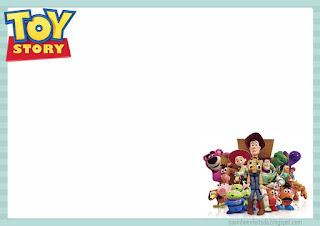 Toy Story Party Free Printable Mini Kit.