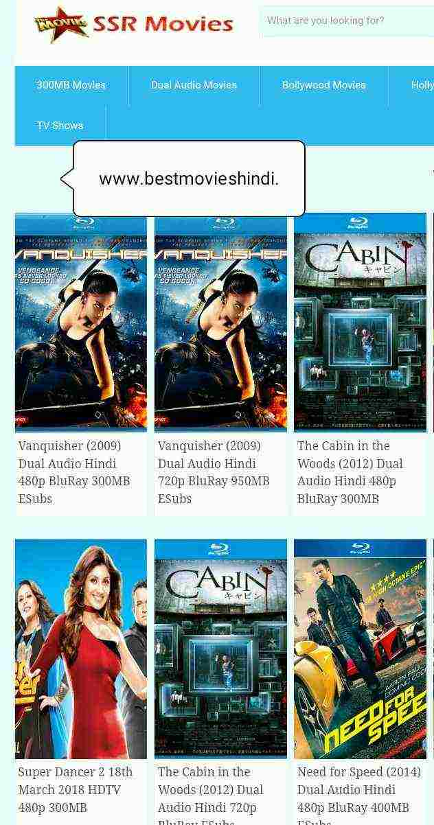 best website for hollywood hindi movie download