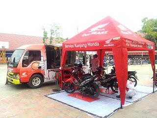 Alamat Bengkel Resmi Motor Honda (AHASS) Kota Banjarmasin, Kalimantan Selatan