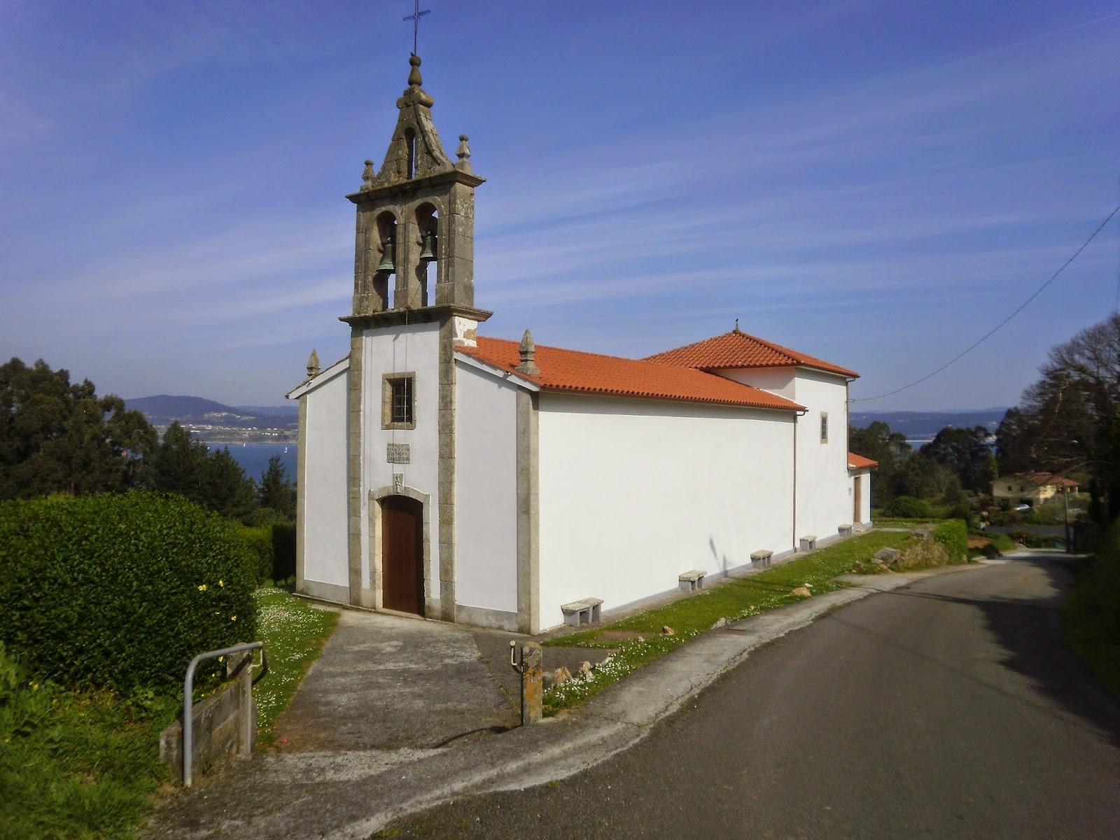 Iglesia de Santo André de Carnoedo en Sada