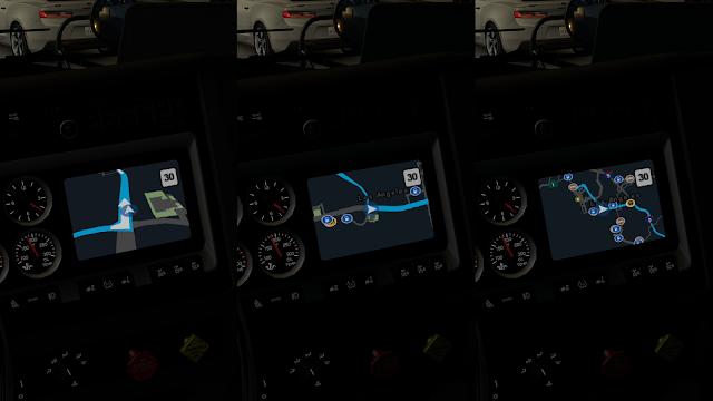 ats google maps navigation night version v1.6 screenshots 1