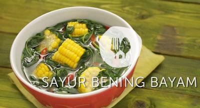 VIDEO & RESEP Cara Membuat Sayur Bening resep sayur bening