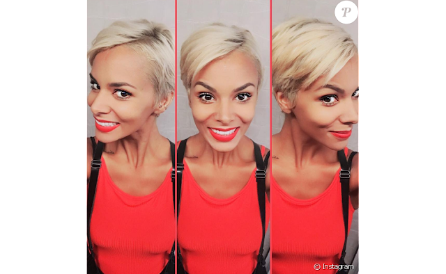 Shy'm en blonde et cheveux courts (PHOTOS)