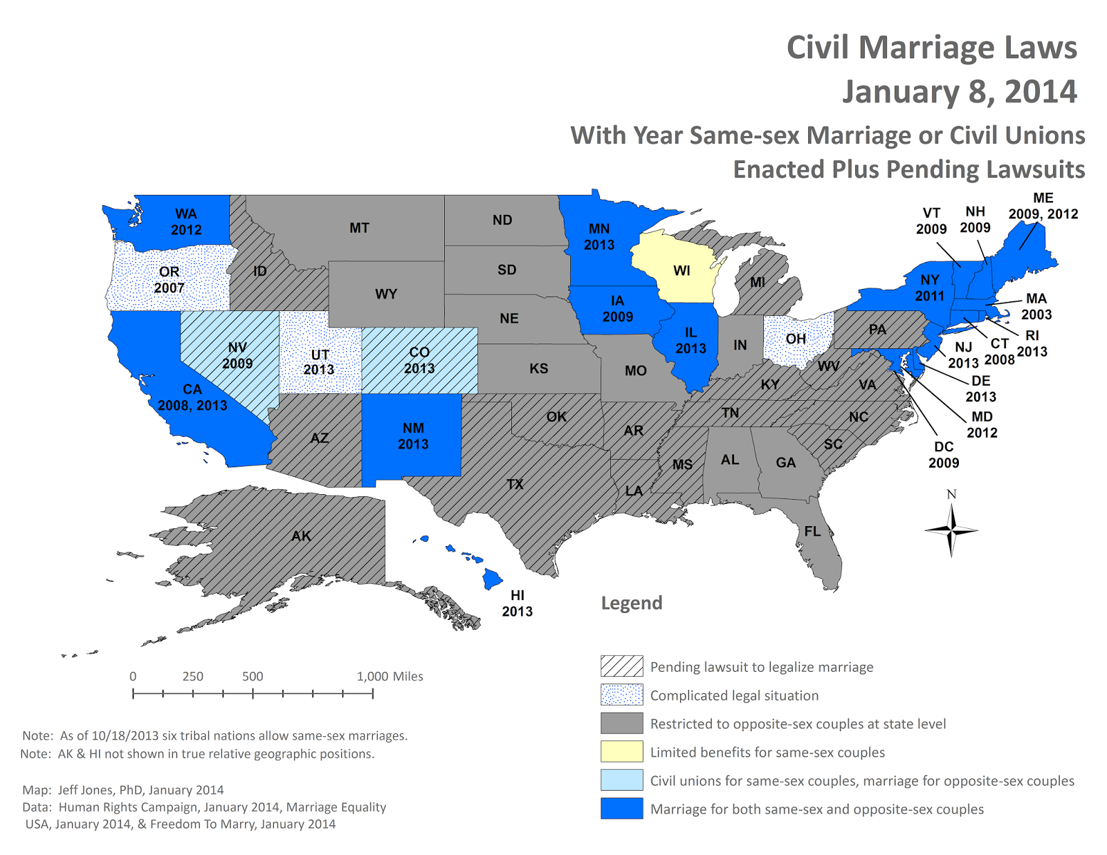 Middling America: January 2014 Status of Same- Marriage ... on 9gag map, modernism map, new moon map, lawyers map, love wins map, family interaction map, life calling map, metaphysical map, inbreeding map, long trip map, stages of life map, doctrine map, sovereignty map, heredity map, middle class map, numerology map, food issues map, addiction map, birth control map,