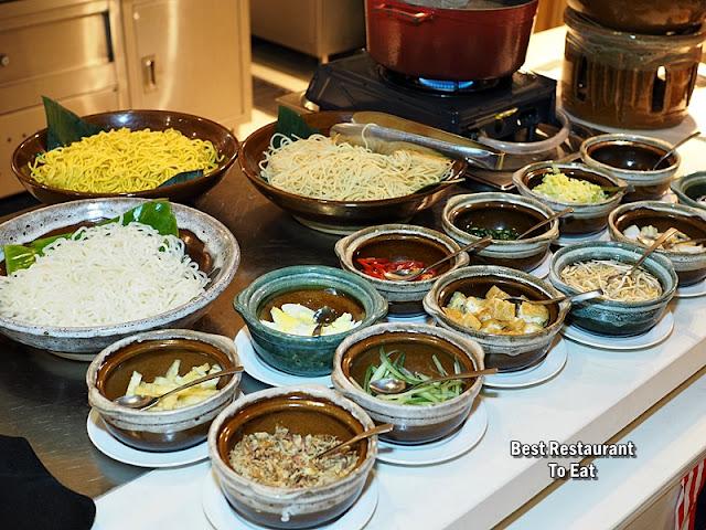 Four Points By Sheraton Puchong Buffet Menu Laksa Johor, Curry Laksa, Assam Laksa
