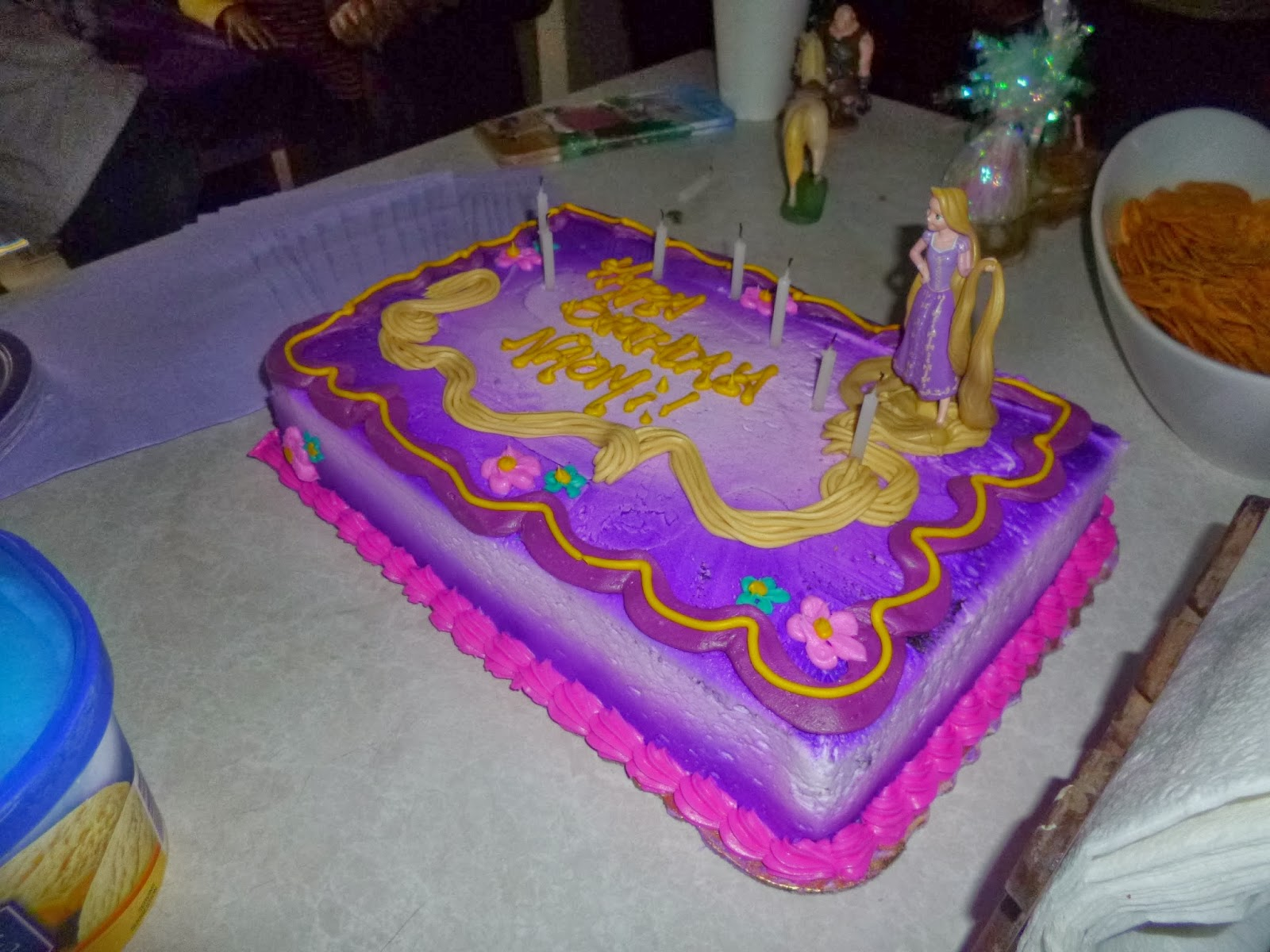 A Resourceful Home Com Tangled Birthday Party