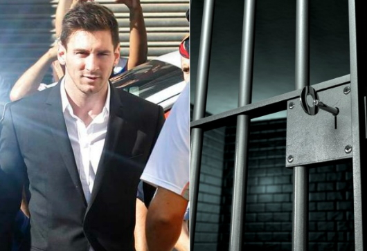 lionel messi jailed