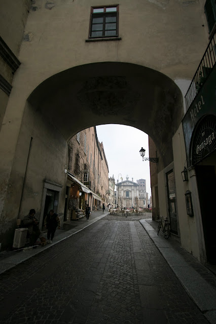 Piazza Sordello-Mantova