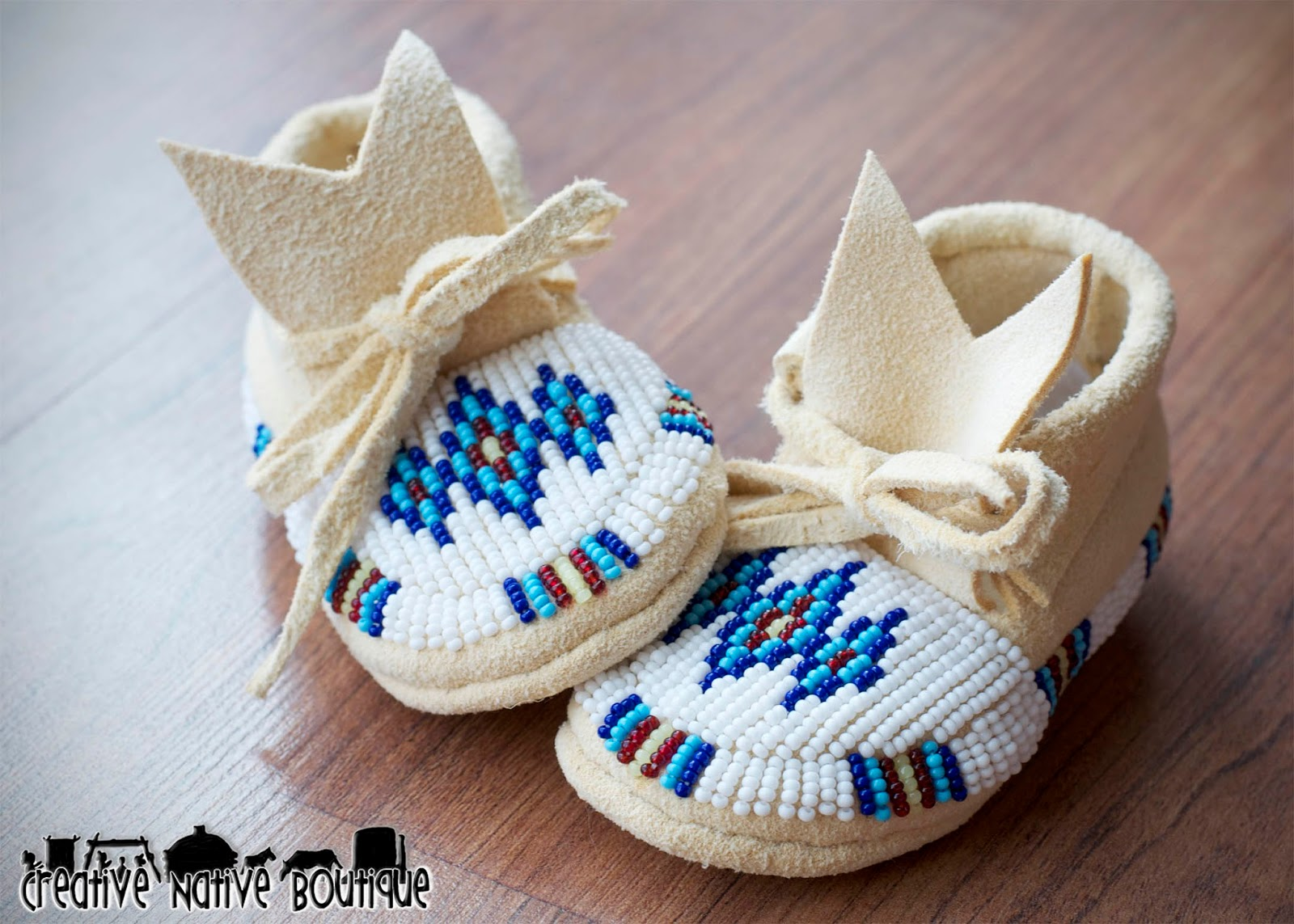 Creative Native Boutique New Baby Moccasins In My Shop