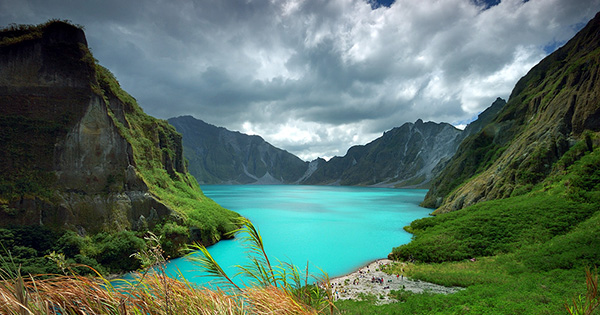 Lake Pinatubo in the Philippines