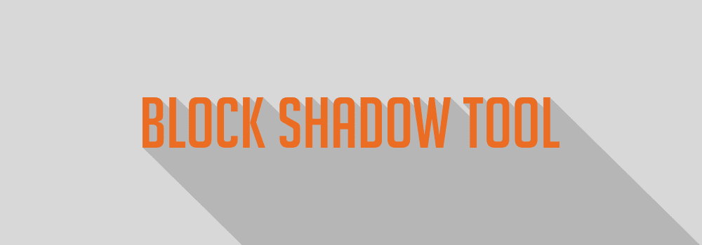 Review CorelDRAW 2018 - Block Shadow Tool