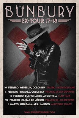 Enrique Bunbury EXTOUR Latinoamerica