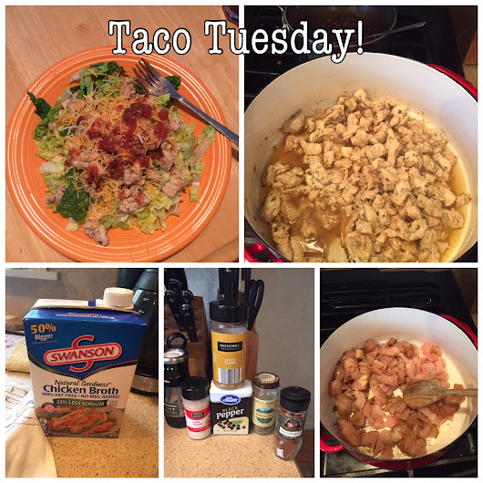 Taco Tuesday- 21 Day Fix Style