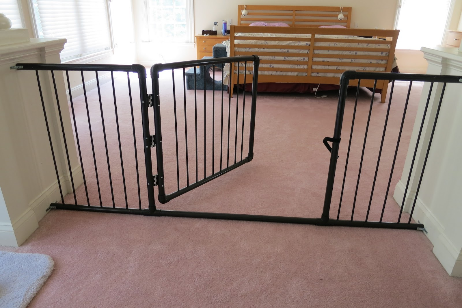 Baby Swing Gate. Evenflo Position And Lock Wood Safety ...