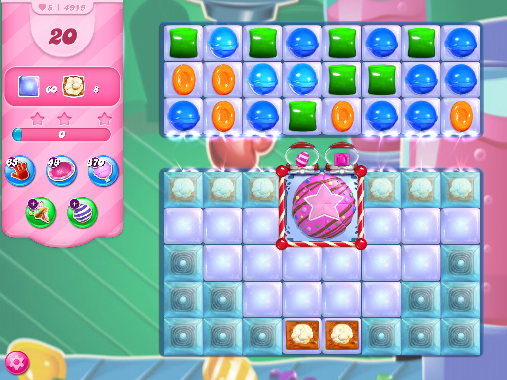 Candy Crush Saga level 4919