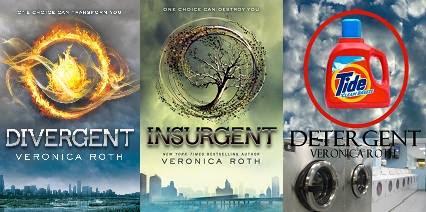 Meme de humor sobre los libros de la saga Divergente