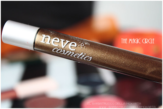 magic circle vernissage gloss neogothic collection neve cosmetics  review
