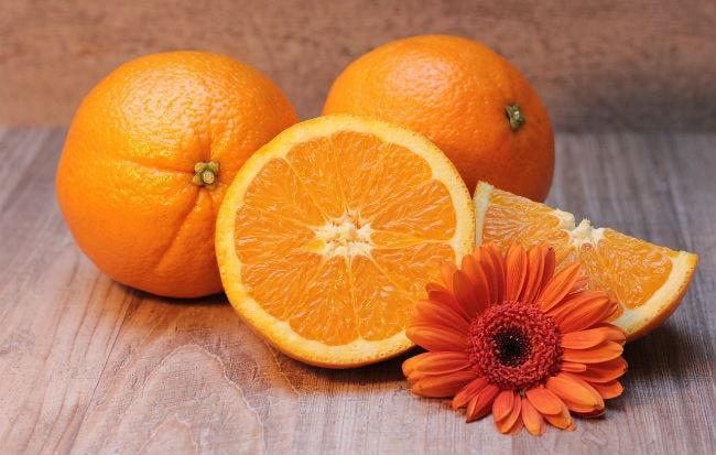 Arancia, fonte naturale di vitamina C