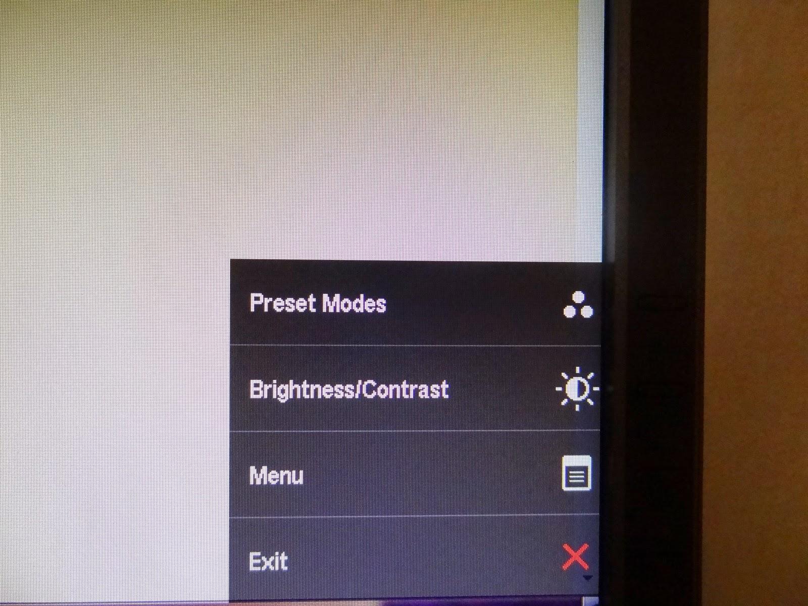 E2314H settings
