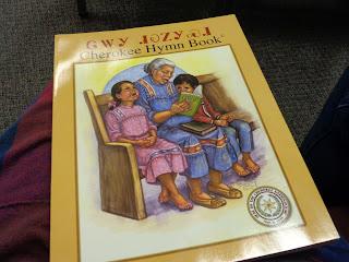Cherokee hymn books