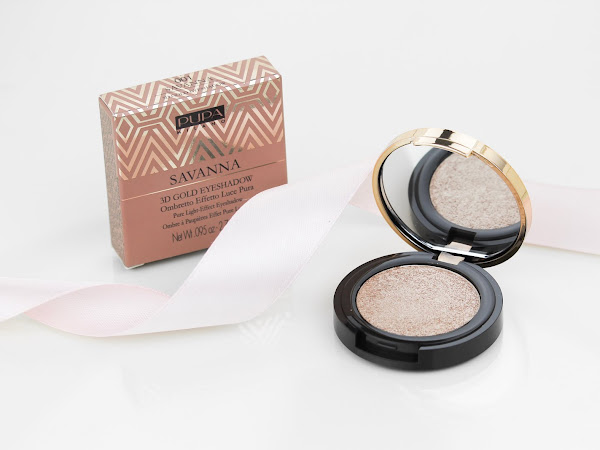 Pupa Milano Savanna 3D Gold Eyeshadow