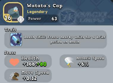 World of Legends Watata's Cap
