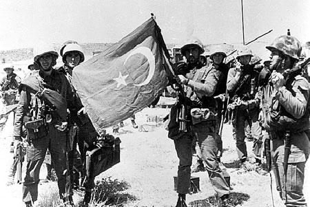 Turkish troop