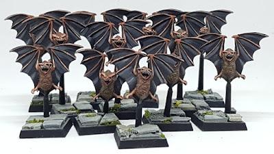 Warhammer Quest Giant Bats