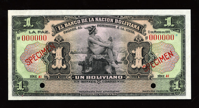 Bolivian Boliviano banknote cash bill currency money
