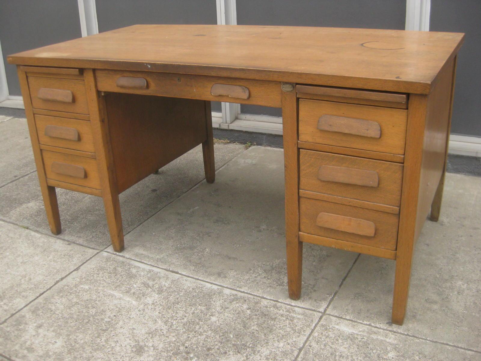Sold Oak Teacher S Desk 75