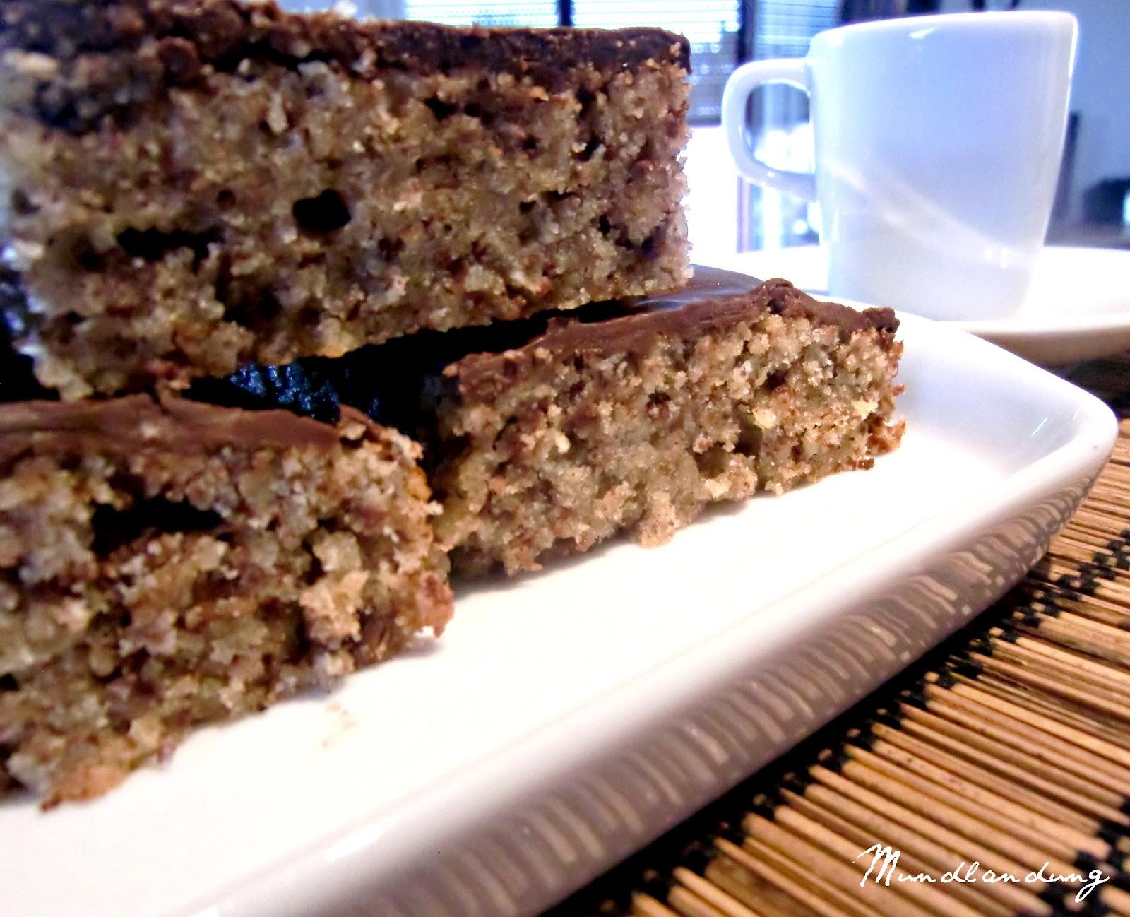 Saftiger Schoko Walnuss Kuchen Rezept Kochrezepte At