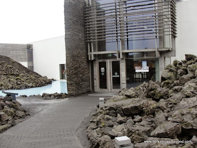 entrance to Blue Lagoon in Iceland
