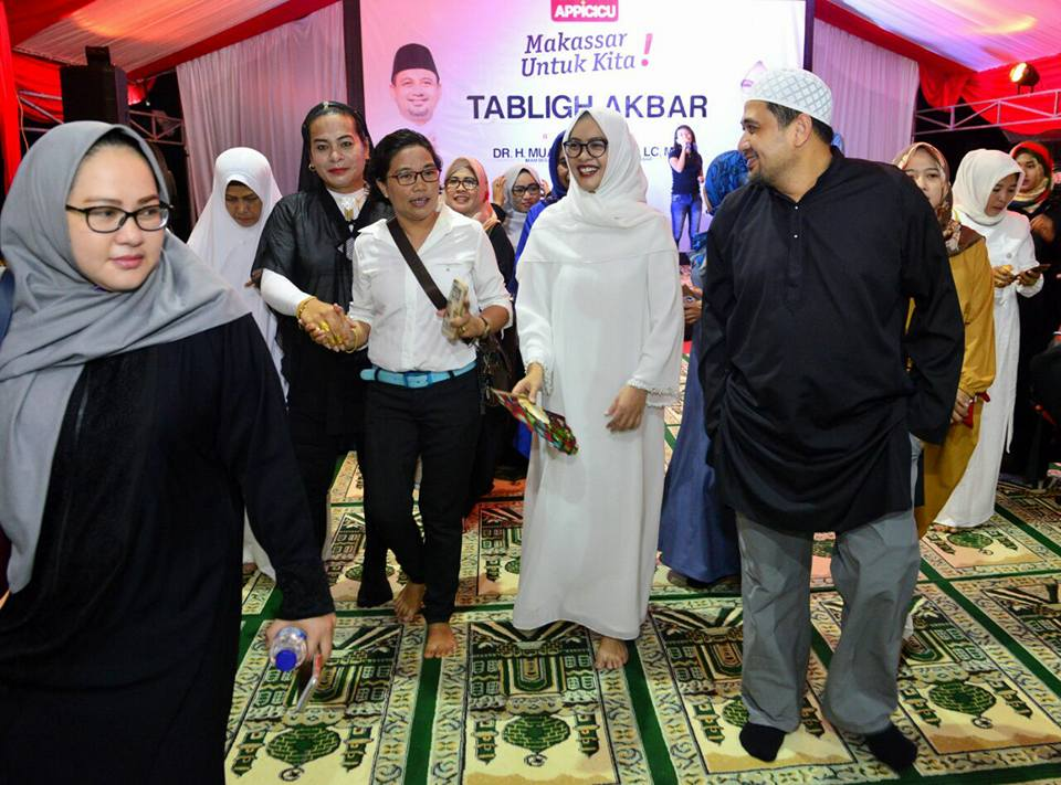 Appi-Cicu Menggila, Partai Gerindra Beri Rekomendasi Pilwakot Makassar