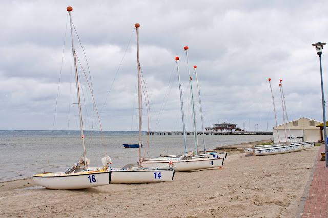 omega łodzie na brzegu, Puck,
