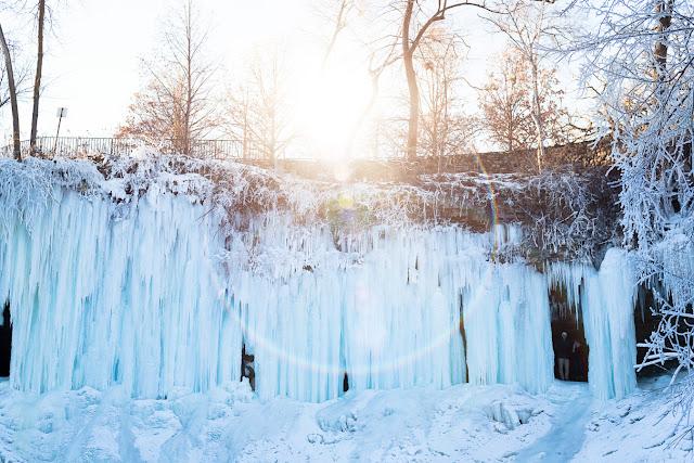 Minnehaha Frozen MN