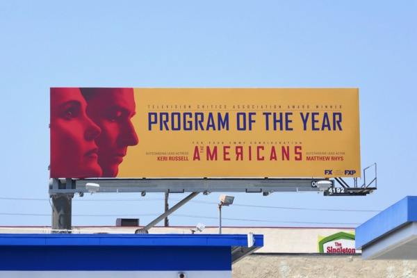 Americans Program of year Emmy nominee billboard