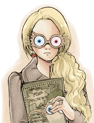 If Zombies Were Supermodels We D Be Them Looking Luna Lovegood