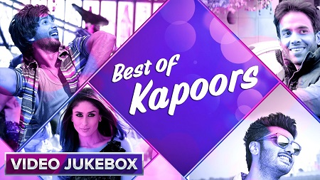 Best of Kapoors 2016 Video Songs Jukebox Bebo Naina Mat Maari Superman Kudi Tu Butter