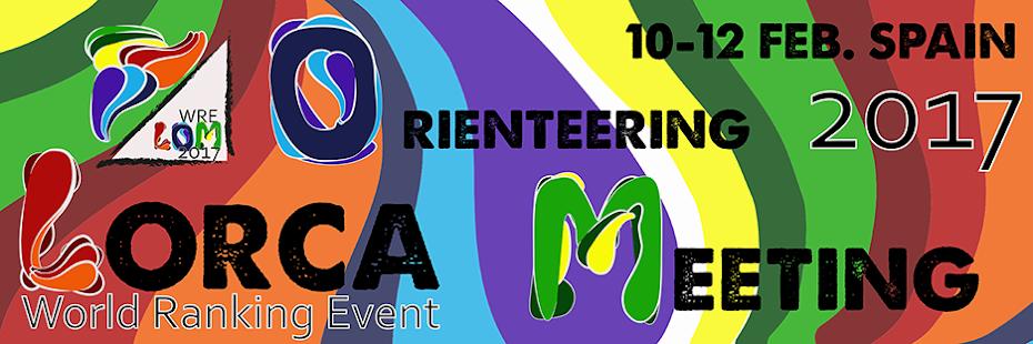 Lorca O-Meeting 2017 World Ranking Event LOM2017