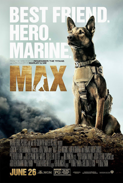 Max, Movie Poster, Directed by Boaz Yakin