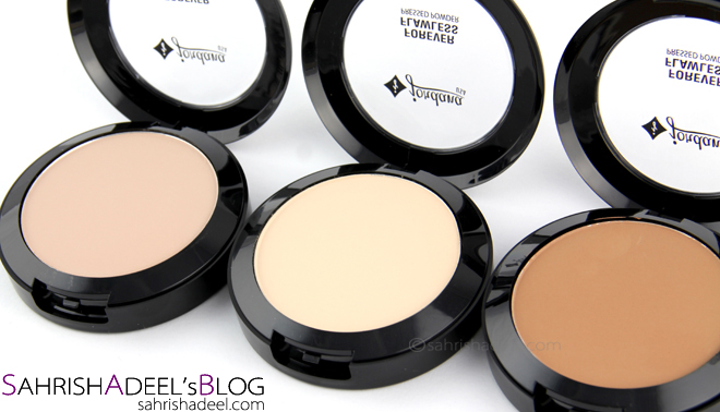 Forever Flawless Face Powder by Jordana Cosmetics - Review & Swatches