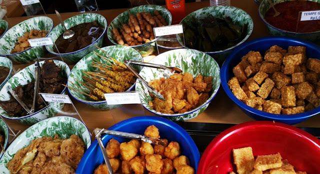 Nasi jamblang -kuliner cirebon