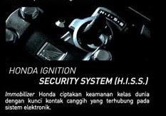 Kunci kontak dengan sistem immobilizer