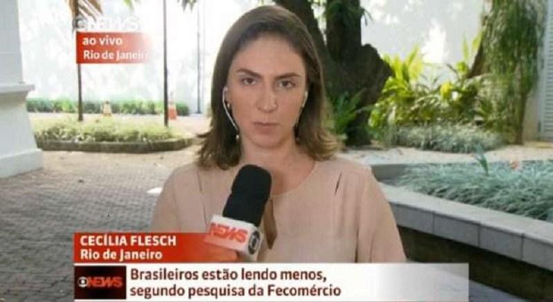 Equipe da Globonews é agredida a pedradas ao vivo no Rio de Janeiro